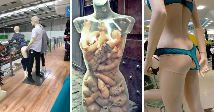 The Most Hilarious Moments In Mannequin History Ever