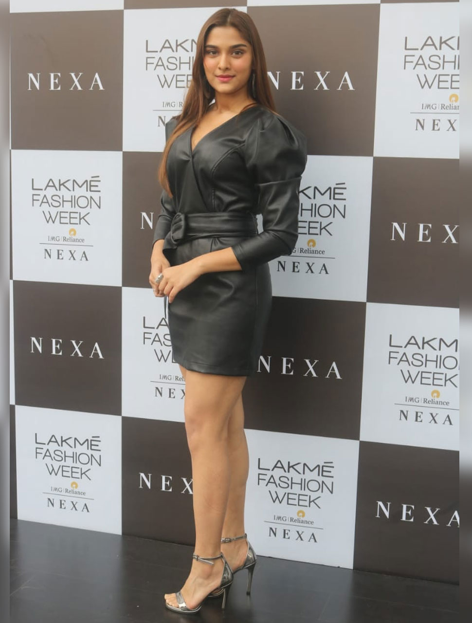sai manjrekar at lakme fashion week