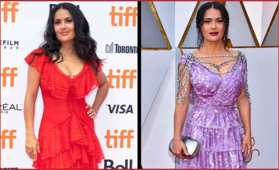 salma hayek fashion style