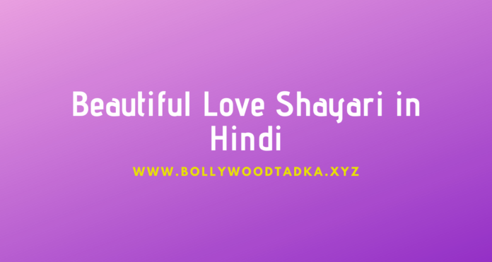 Beautiful Love Shayari in Hindi