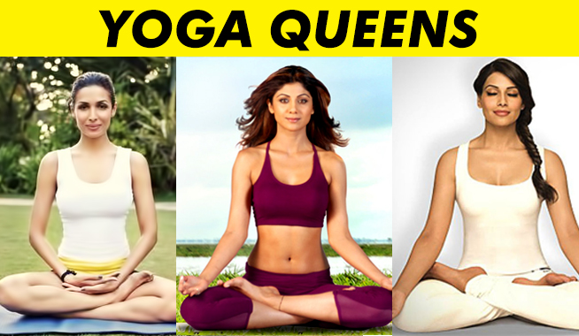 bollywood actress yoga queens