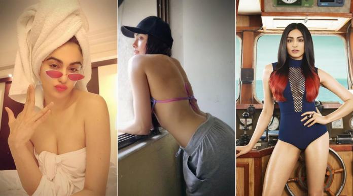 Actress and Model Adah Sharma Bold Photos