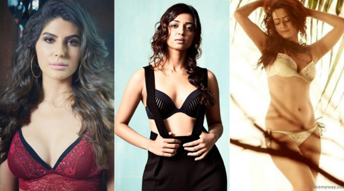 Sacred Games 2 actres Surveen Chawala, Radhika Apte, Sobhita Dhulipala, Harshita Gaur, Elnaaz Norouzi hot and sexy figure, sexy photo, bikini figure secrets, workout and diet plan in Hindi