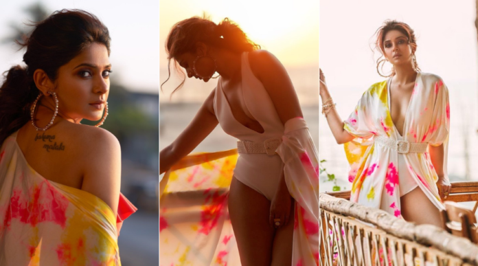 Jennifer Winget Pictures In White Bikini