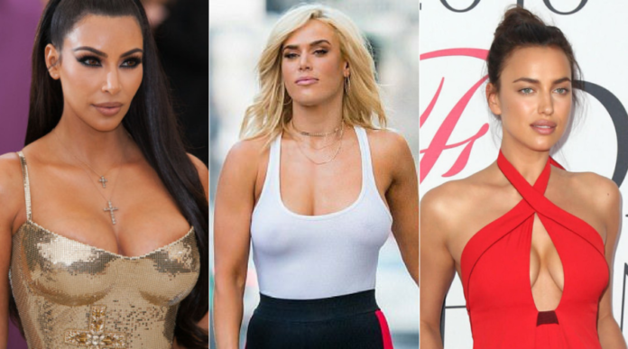 Women with the Most Attractive Figure